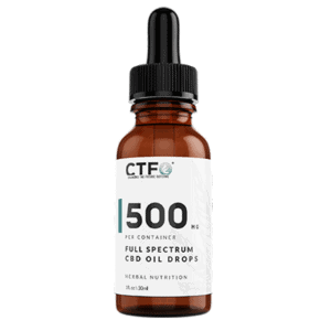 500mg Full Spectrum CBD Oil Silver Firs WA